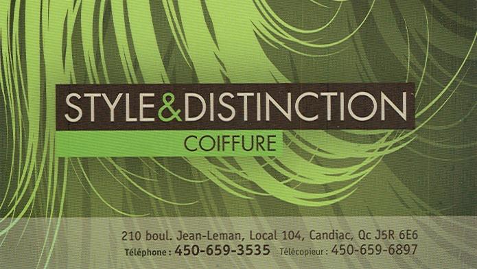 Style & distinction coiffure