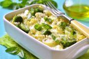 Petits légumes en gratin