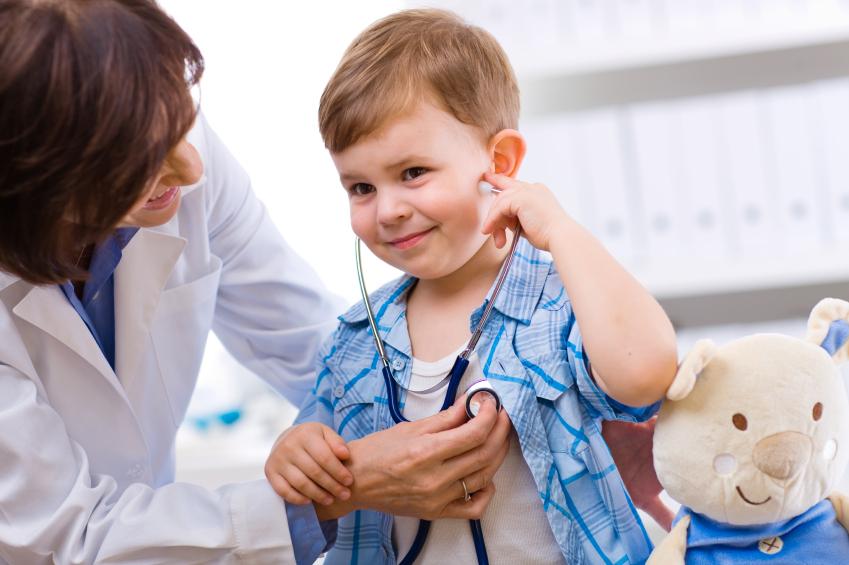 Visite chez le pédiatre