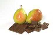 Parfait minute aux poires et chocolat