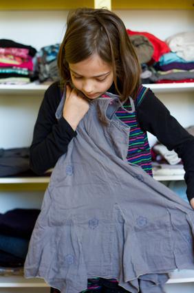 Ma fille déteste s'habiller!