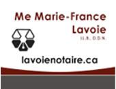 Me Marie-France Lavoie, notaire
