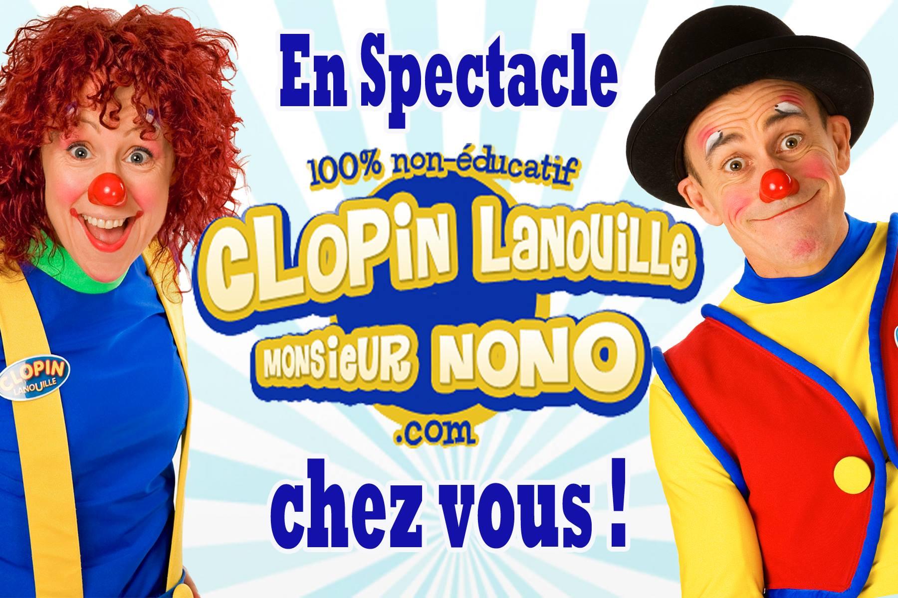 clopin lanouille et monsieur non clows