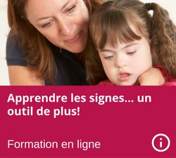 Formation en ligne - Apprendre les signes - Parents Intervenants - Julie Malenfant - Nanny secours