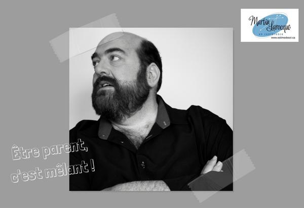 Martin Larocque, comédien et conférencier