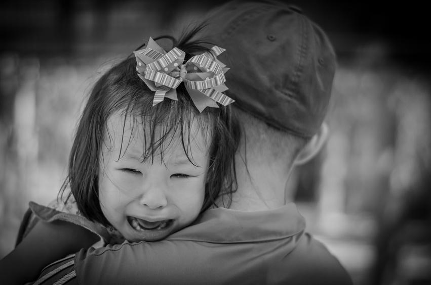 Fille Qui Pleure ma fille a peur de son papa. - laithicia adam - nanny secours