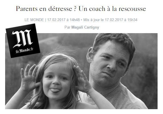 Parents en détresse un coach a la rescousse