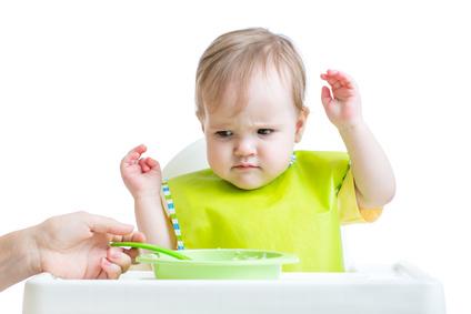 Refus de s'alimenter chez le nourrisson