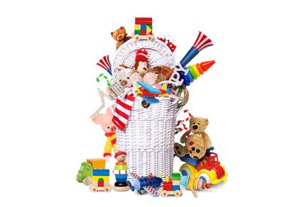 Les enfants ont beaucoup trop de jouets!