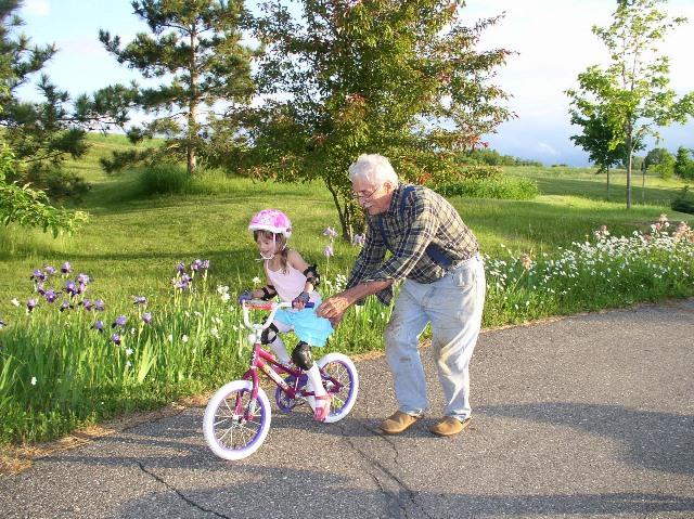 Apprendre à faire du vélo à deux roues