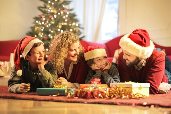 Plaisir en famille pendant les fêtes