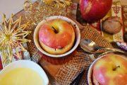 Trésor de pommes au four