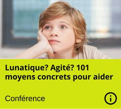 Conference - Lunatique Agite TDAH - Manon Gauthier - Nanny secours