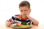 Il mange de tout ! Sauf des légumes…
