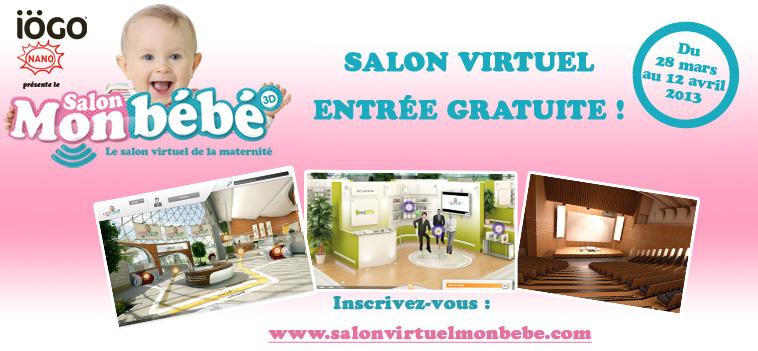 Salon virtuel mon bébé – 2013