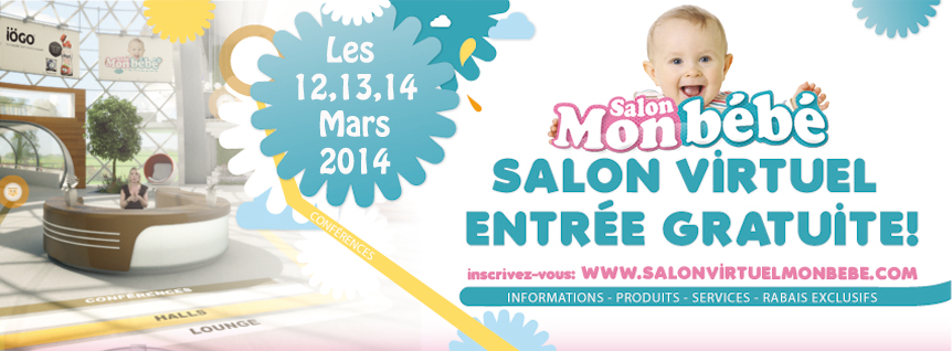 salon virtuel mon bebe 2014