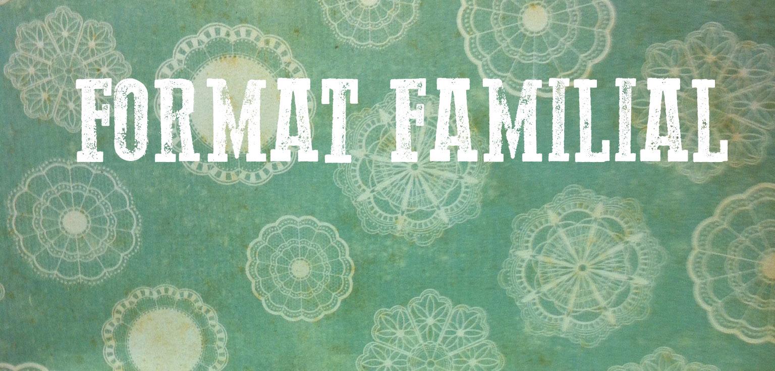 Une émission famille différente