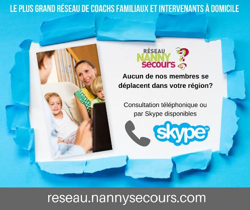 Soutien telephonique - SKYPE pour parents
