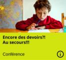 Conférence - Aide aux devoirs - Lysanne Lanthier - Nanny secours
