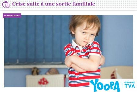 crise sortie famille - Yoopa