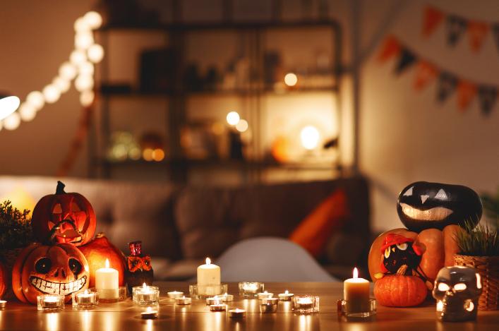 L'Halloween 2020… à la maison!